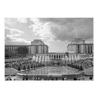 Foto Jardines y el cuadrado de Trocadero