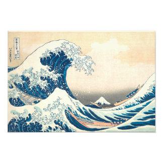 Foto La gran onda apagado de Kanagawa