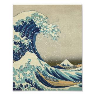 Foto La gran onda de Kanagawa