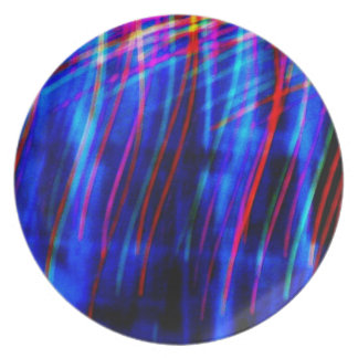 "Foto ligera abstracta ""Curtainia "" de la pintura Plato"