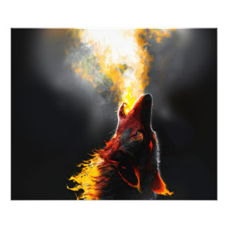 Foto Lobo del fuego