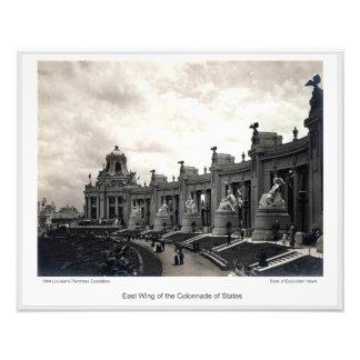 Foto LPE14 - Ala del este de la columnata de estados