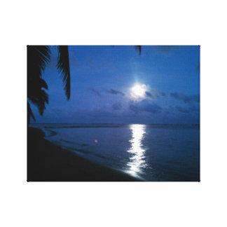Foto-Luna del  del arte sobre Molokai