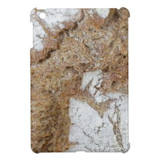 Foto macra de la superficie del pan marrón