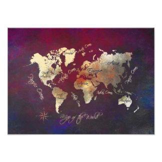 Foto mapa del mundo
