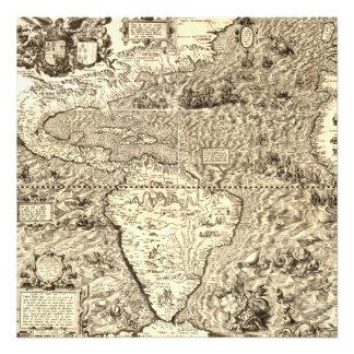 Foto Mapa del mundo de América de Diego Gutiérrez