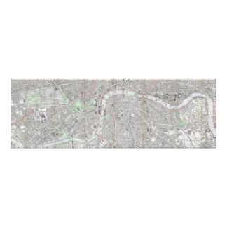 Foto Mapa del vintage de la ciudad de Londres