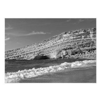 Foto Matala - el sol, el mar y las cuevas