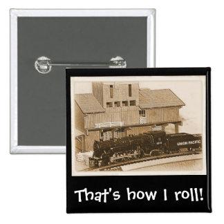 Foto modelo pasada de moda del tren chapa cuadrada 5 cm
