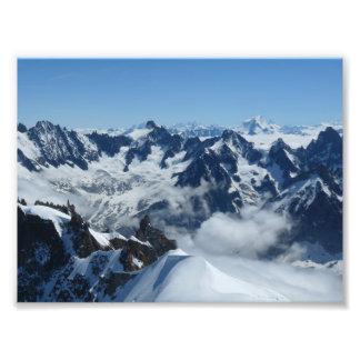 Foto Montañas del francés de Chamonix