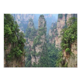 Foto Montañas nacionales de Zhangjiajie Forest Park