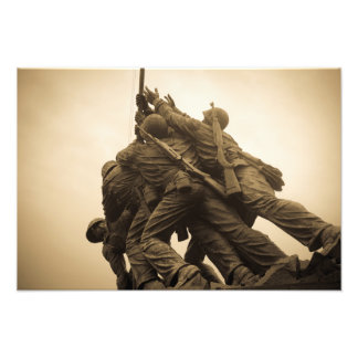 Foto Monumento de Iwo Jima en Washington DC