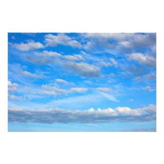 Foto Nubes de la algodón