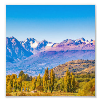 Foto Paisaje andino de la Patagonia, Aysen, Chile