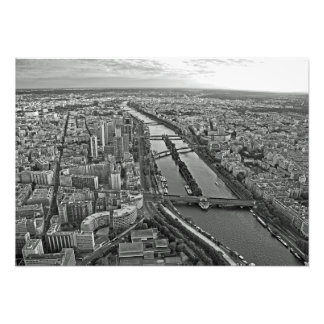 Foto Panorama de París de la torre Eiffel