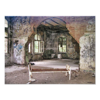 Foto Pasillos y cuartos, hospital de Beelitz, lugares