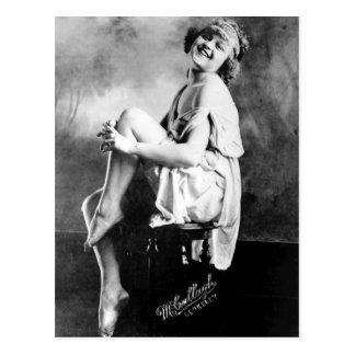 Foto perfecta 1909 del encanto del vintage del chi tarjeta postal
