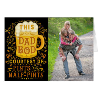 Foto personalizada cerveza divertida del tío del tarjeta de felicitación