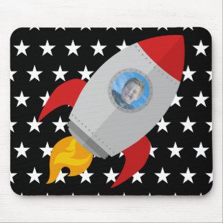 Foto personalizada de Red Rocket Alfombrilla De Ratón