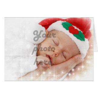 Foto personalizada tarjeta de felicitación