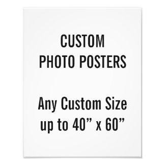 "Foto Personalizado 11"" x 14"" poster de la foto, hasta"