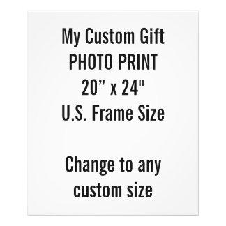 """Foto Personalizado 20"""" x 24"""" tamaño de capítulo de los"""