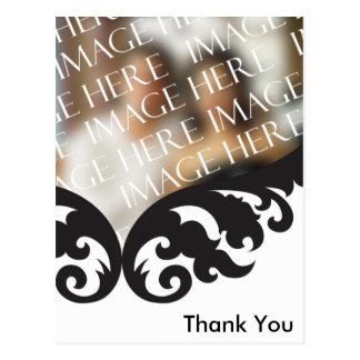 Foto personalizado tarjeta de agradecimiento postal
