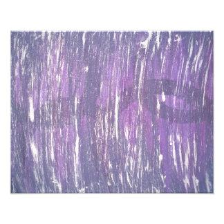 Foto Pincelada de plata púrpura de la salpicadura del