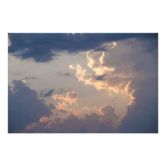 Foto Pintura en el cielo I (tamaño L)