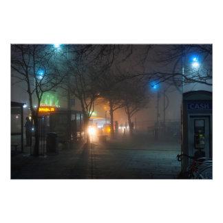 Foto Portsmouth en la noche