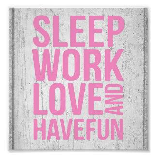 Foto Poster de motivación de la cita del estilo del