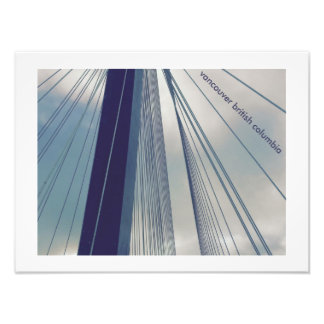 Foto puente Vancouver b.c de mann del puerto