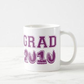 Foto púrpura del personalizado del año 2010 de la taza clásica