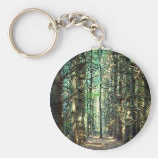 Foto rebelde del árbol llavero redondo tipo chapa