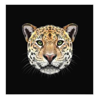 Foto Retrato ilustrado del jaguar