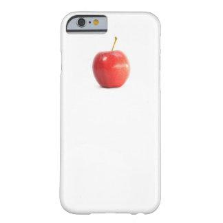 Foto roja divertida fresca del icono funda para iPhone 6 barely there