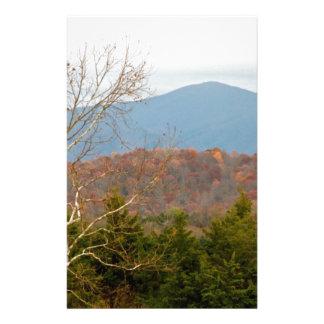 Foto Shenandoah del paisaje de Blue Ridge Mountain Papeleria
