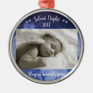 Foto silenciosa de la noche - ornamento de Cirlce