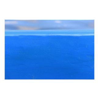 """Foto Textura azul 36"""" del barco x 24"""""""