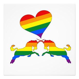 Foto Unicornios del arco iris