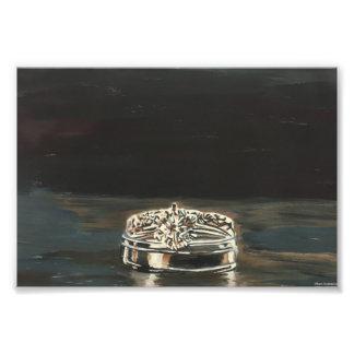 Foto Uno de una impresión del monotipo de los anillos