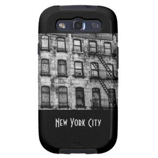 Foto urbana de la calle de New York City Galaxy S3 Funda