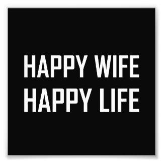 Foto Vida feliz de la esposa feliz