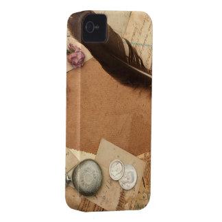 Foto vieja del vintage iPhone 4 Case-Mate cárcasas
