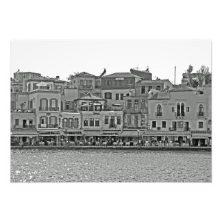 """Foto Vista de la """"promenade"""" del mar con los"""