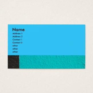 fotografía abstracta tarjeta de visita