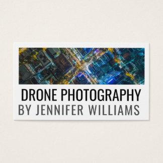 Fotografía aérea intrépida del abejón tarjeta de visita