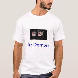 fotografía de detenido del demonio del sir camiseta