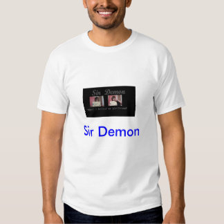fotografía de detenido del demonio del sir camisetas