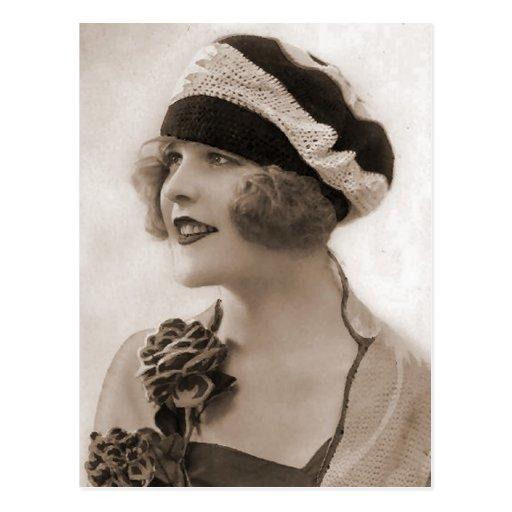 Fotografía de la aleta del vintage (115) postal
